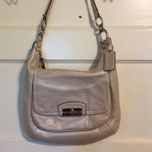 Coach Champagne Leather Sling (037)